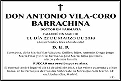 Antonio Vila-Coro Barrachina
